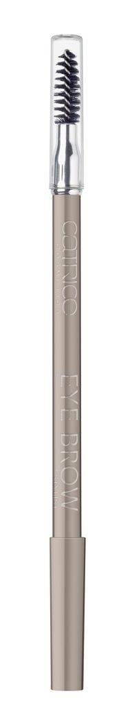 CATRICE Контур для бровей со щеткой Eye Brow Stylist 020 Data With Ash-ton коричневый, 1,6гр кисть для коррекции бровей eye brow brush seventeen