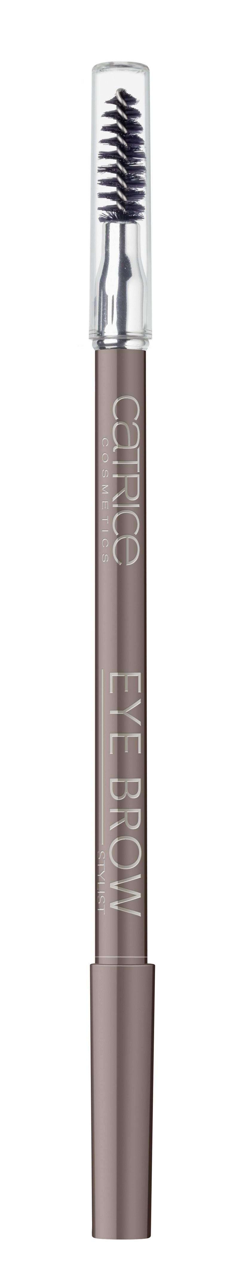 CATRICE Контур для бровей со щеткой Eye Brow Stylist 030 Brow-n-eyed Peas коричневый, 1,6гр48776Незаменимое средство для Ваших бровей В практичном дизайне в форме ручки. Благодаря профессиональной щеточке, создает идеальную форму бровей, на которую очень легко нанести пудровую текстуру карандаша и сделать натуральные, естественные брови. Вы больше никогда без него не выйдете из дома!Как создать идеальные брови: пошаговая инструкция. Статья OZON Гид