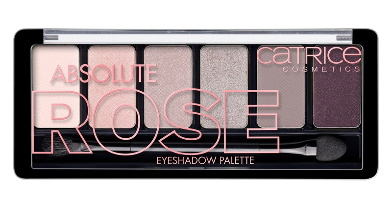 CATRICE Тени для век 6 в 1 Absolute Rose Eyeshadow Palette 010 розовые оттенки, 6гр для глаз catrice the ultimate chrome collection eyeshadow palette