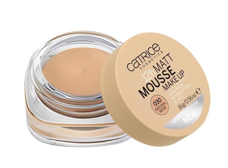 CATRICE Мусс матирующий для лица 12h Matt Mousse Make up 030 Natural Beige, 16гр где продается catrice