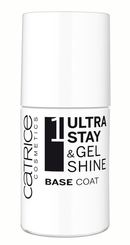 CATRICE Базовое покрытие для ногтей Ultra Stay & Gel Shine Base Coat, 10мл53117Достичь профессиональных результатов в маникюре без использования светодиодной лампы и без посещения салона теперь совсем просто вместе с новой инновационной системой лаков для ногтей Ultra Stay & Gel Shine 3 Step Nail System от CATRICE! В нее входят базовое покрытие Ultra Stay & Gel Shine Base Coat, цветные лаки из линейки Ultimate Nail Lacquer, а также топовое покрытие Ultra Stay & Gel Shine Top Coat, усиливающее цвет. Эффект гелевого маникюра и стойкость до восьми дней гарантированы! Все средства легко удаляются с помощью жидкости для снятия лакКак ухаживать за ногтями: советы эксперта. Статья OZON Гид