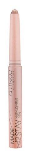 CATRICE Хайлайтер Made To Stay Highlighter Pen 010 светло-розовый, 1,64гр70703Хайлайтер применяется вдоль линии роста бровей, зрительно увеличивая глаза и в уголках глаз, придавая им нежное сияние