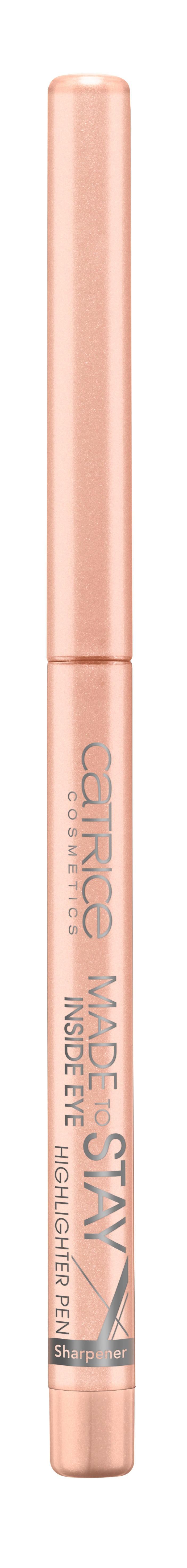 CATRICE Контур для глаз Made Stay Inside Eye Highlighter Pen 010 розово-бежевый, 0,3гр75351Идеальный карандаш для выполнения макияжа Smokey Eyes. Стойкий, хорошо тушуется, имеет восковую основу. Создает мягкий эффектный контур