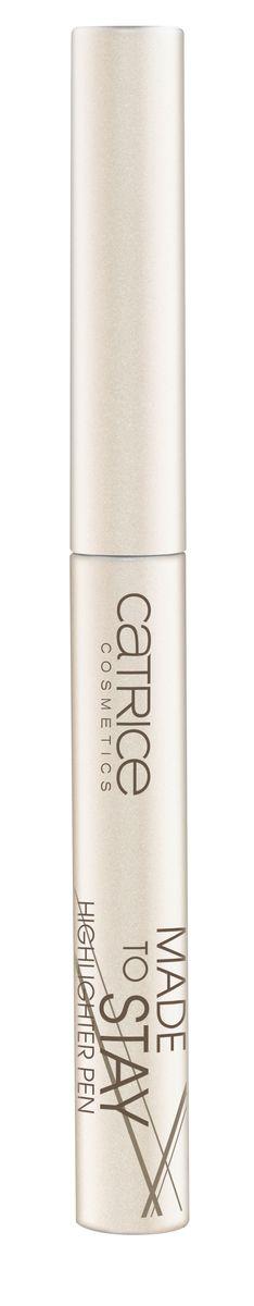 CATRICE Хайлайтер Made To Stay Highlighter Pen 030 бежево-серебристый, 1,64гр75353Хайлайтер применяется вдоль линии роста бровей, зрительно увеличивая глаза и в уголках глаз, придавая им нежное сияние