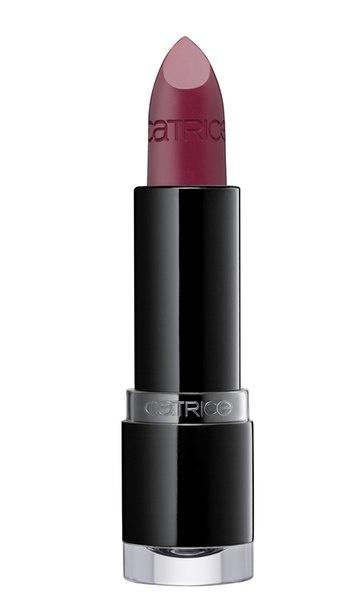 CATRICE Губная помада Ultimate Colour Lipstick 340 Berry Bradshaw ягодный сорбет, 3,8гр76862Высоко пигментированные, богатые оттенки идеальное покрытие и блеск, а также гладкая, сливочная и долгосрочные текстуры: цвет который длится в течение нескольких часов. Эта помада насыщена пигментами, поэтому подарит Вашим губам яркий цвет на целый день