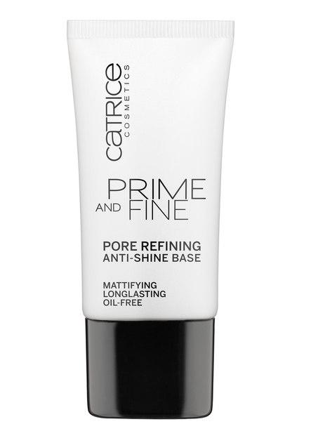 CATRICE Основа выравнивающая Prime And Fine Pore Refining Anti-Shine, 30мл76883Основа под макияж CATRICE` PRIME AND FINE ANTI-SHINE выравнивающая цвет лица (от жирного блеск, матирующая)