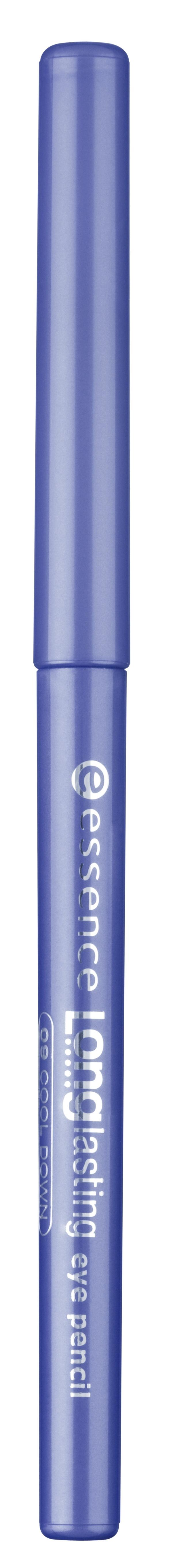 essence Карандаш для глаз Long lasting синий т.09, 0,28гр41473Long lasting от Essence - мягкий карандаш для глаз, предназначенный для точного нанесения линий. Стойкость и интенсивный цвет: благодаря инновационному поворотному механизму этот карандаш позволяет невероятно легко создать четкий, аккуратный и выразительный контур. Не требует заточки. Достоинства: Мягко и нежно ложится на веко Насыщенный пигмент Легко создать аккуратную линию любой толщины В течение дня цвет не тускнеет Легко удаляется при снятии макияжа.
