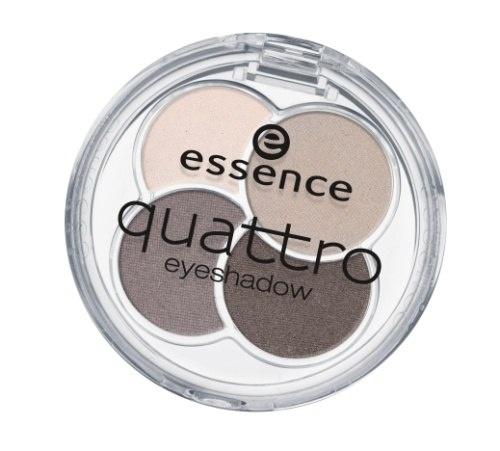 essence Тени для век QUATTRO т.07, 5гр48262Cочетание четырех восхитительных оттенков позволят создать любой тип макияжа – утонченный дневной или изысканный вечернийШелковистая текстураИдеально сохраняются в течение всего дня