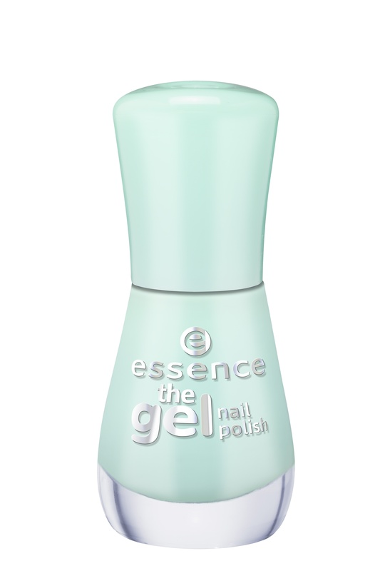 essence Лак для ногтей The gel nail мятный т.40, 8мл