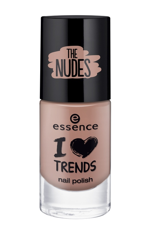 essence Лак для ногтей I love trends the nudes телесный т.03, 8мл