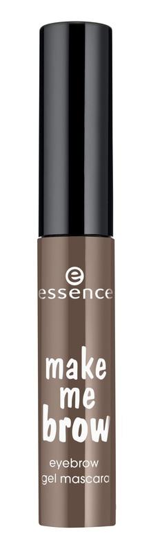 essence Цветной Гель для бровей темно-коричневый т.02, 3,8гр52842Данный гель представлен в двух оттенках – для светлых волосков и для тёмных бровей.Упаковка представляет собой компактный миниатюрный флакончик с чёрной крышкой. Маленькая функциональная кисточка с небольшими ворсинками разного размера помогает придать волоскам дополнительный объём, хорошо прокрашивает волоски и равномерно отдаёт продукт