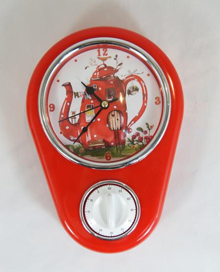 Кухонные настенные часы