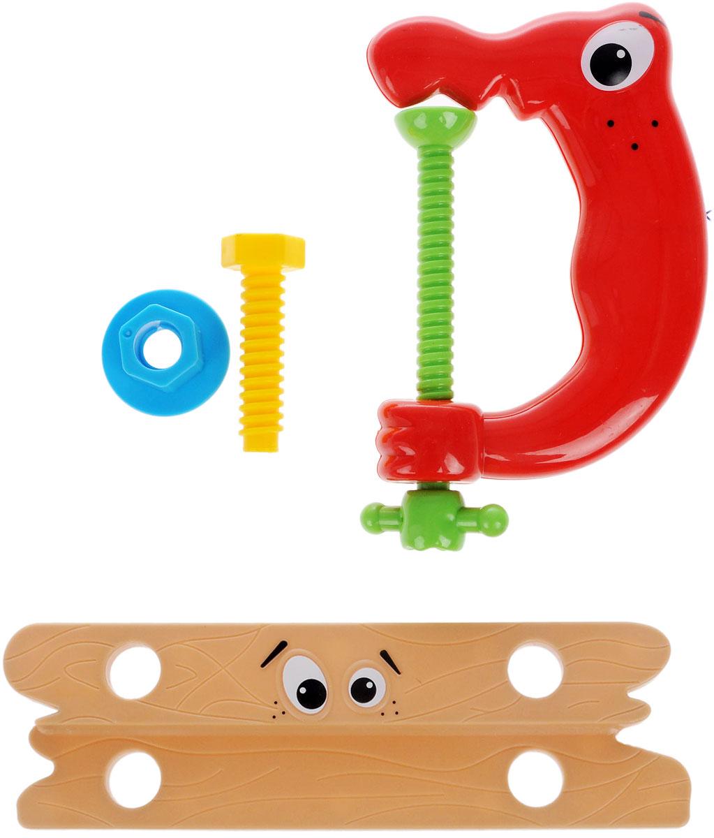 1TOY Игровой набор Профи-малыш цвет коричневый красный 1toy игровой набор профи малыш цвет красный голубой зеленый