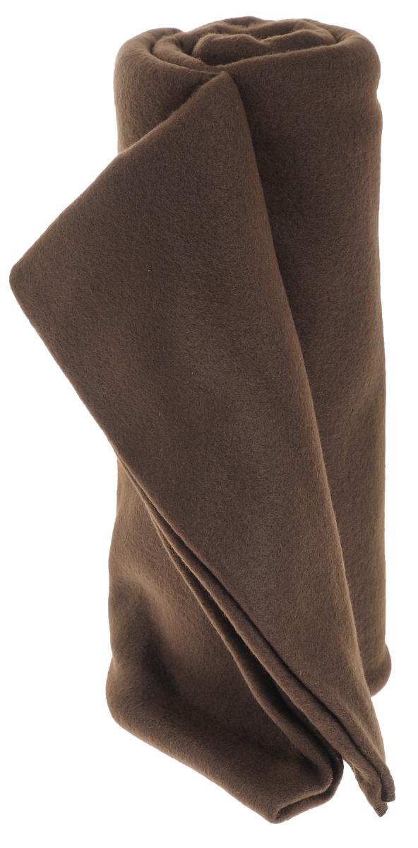 Покрывало флисовое Диана, цвет: шоколад, 130 см х 150 смПФ-Ш-130-150Изящное покрывало Диана, выполненное из флиса (100% полиэстер), гармонично впишется в интерьер вашего дома и создаст атмосферу уюта и комфорта. Флис имеет фактуру велюра, ткань приятная на ощупь, мягкая и слегка пушистая, но при этом очень легкая, хорошо сохраняет тепло, устойчива к стирке и износу. Благодаря мягкой и приятной текстуре, глубоким и насыщенным цветам, такое покрывало станет модной, практичной и уютной деталью вашего интерьера. Покрывало согреет в прохладную погоду и будет превосходно дополнять интерьер вашей спальни. Высочайшее качество материала гарантирует безопасность не только взрослых, но и самых маленьких членов семьи.Покрывало может подчеркнуть любой стиль интерьера, задать ему нужный тон - от игривого до ностальгического. Покрывало - это такой подарок, который будет всегда актуален, особенно для ваших родных и близких, ведь вы дарите им частичку своего тепла!