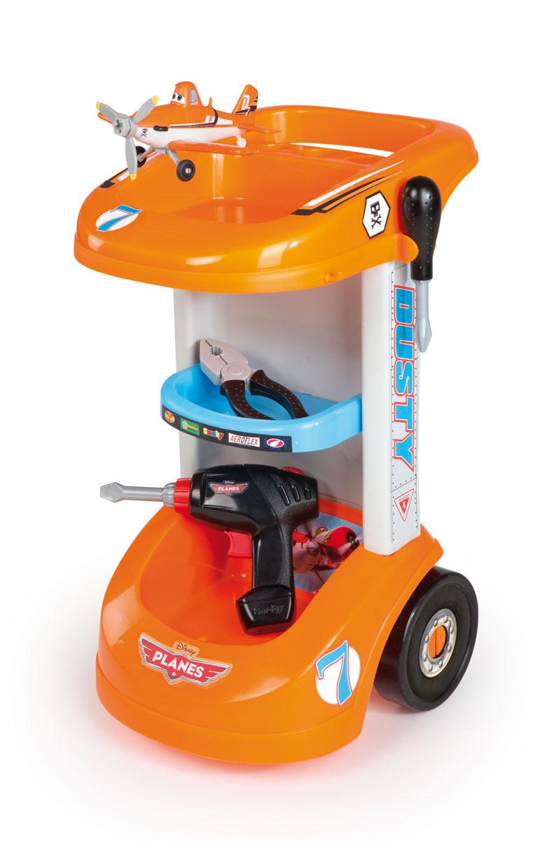 Smoby Игрушечная тележка с инструментами Самолеты кухня игрушечная smoby smoby детская кухня для девочек minnie мини