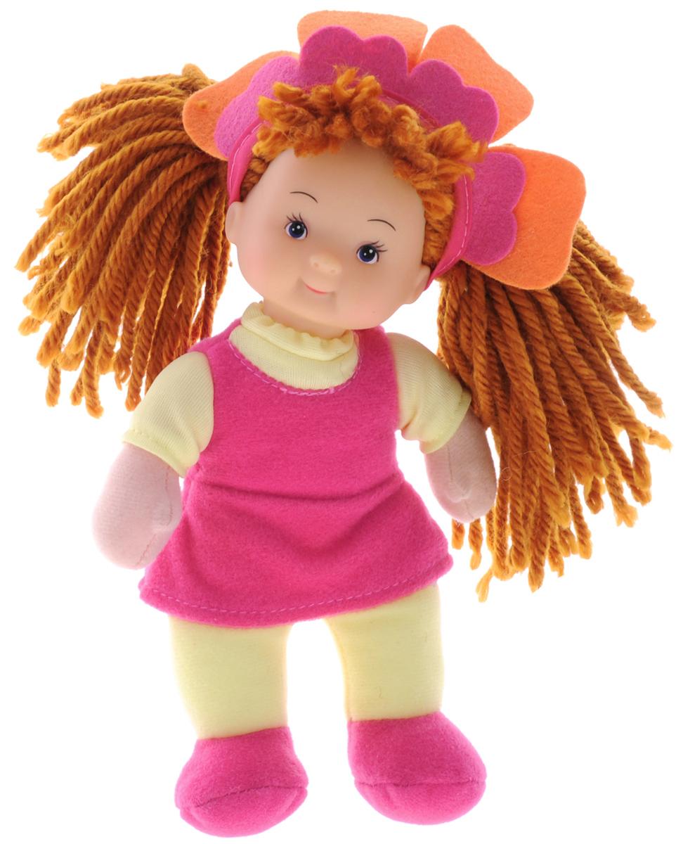 Simba Кукла мягкая Little Flower цвет платья желтый розовый