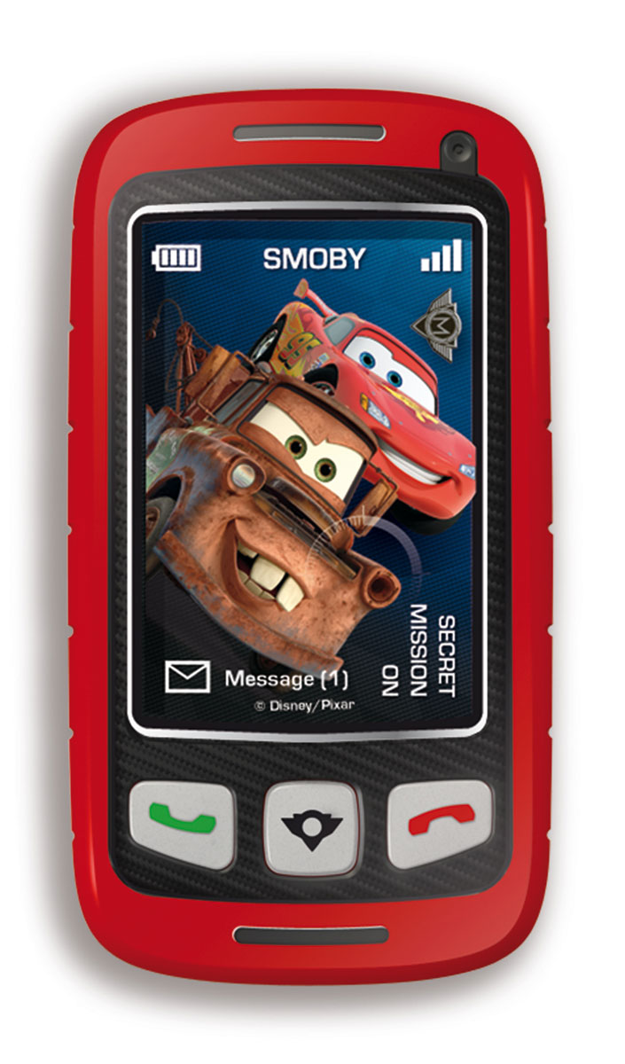 Smoby Телефон шпиона Тачки smoby игрушка блендер tefal smoby