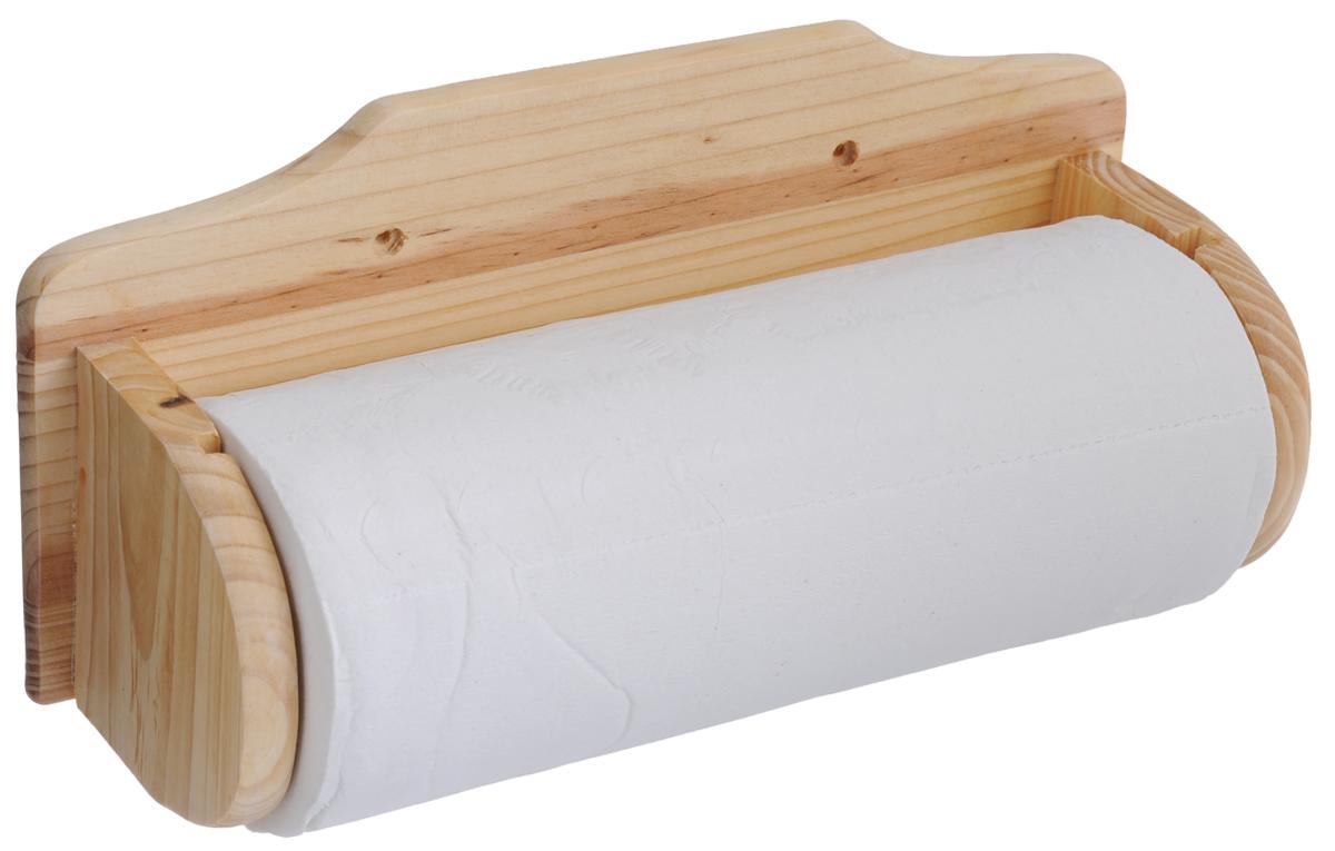 Держатель для бумажного полотенца Hans & Gretchen, навесной3010Настенный держатель для бумажного полотенца Hans & Gretchen, выполненный из дерева, станет непременным атрибутом на любой кухни. В комплект к держателю прилагается рулон бумажных кухонных полотенец, с перфорацией по линии отрыва.Размер держателя: 33 см х 14,5 см х 9 см.
