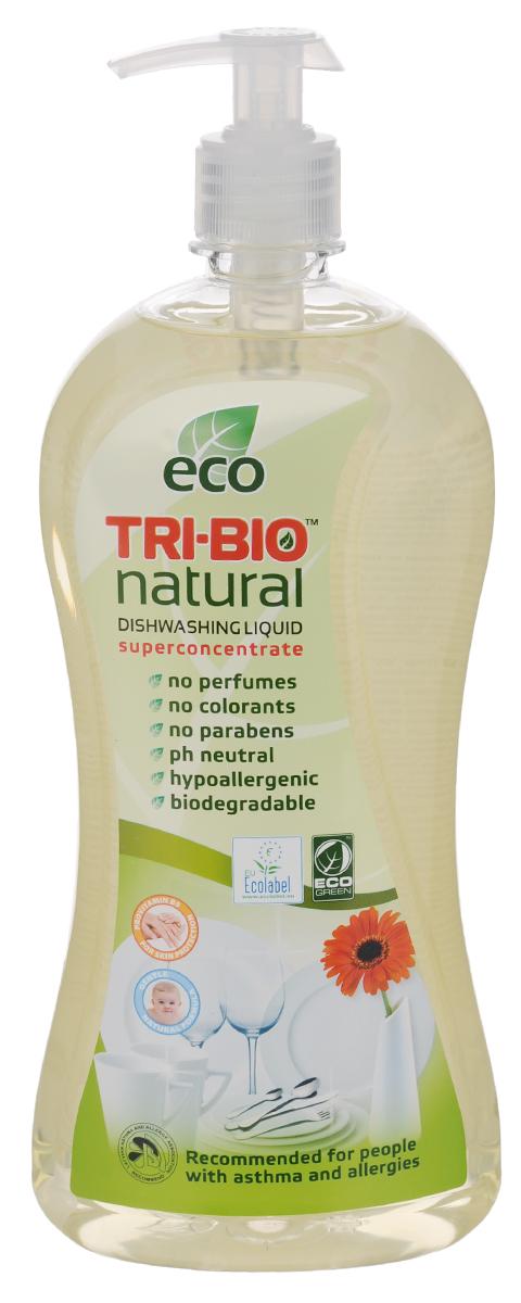 Средство для мытья посуды и рук Tri-Bio, 840 мл биосредство для мытья полов tri bio 940 мл