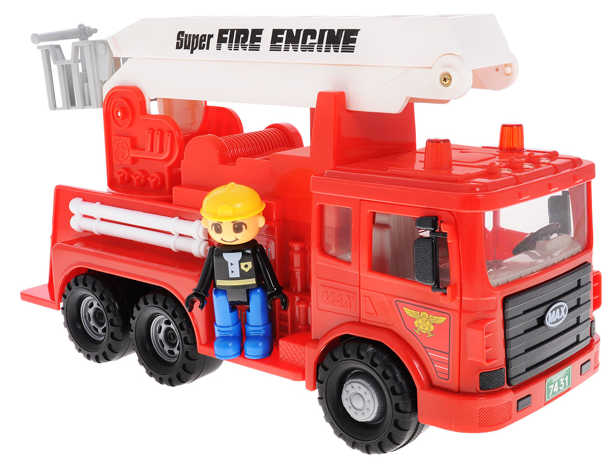 Daesung Пожарная машина Max машины daesung модель машина пожарная 404