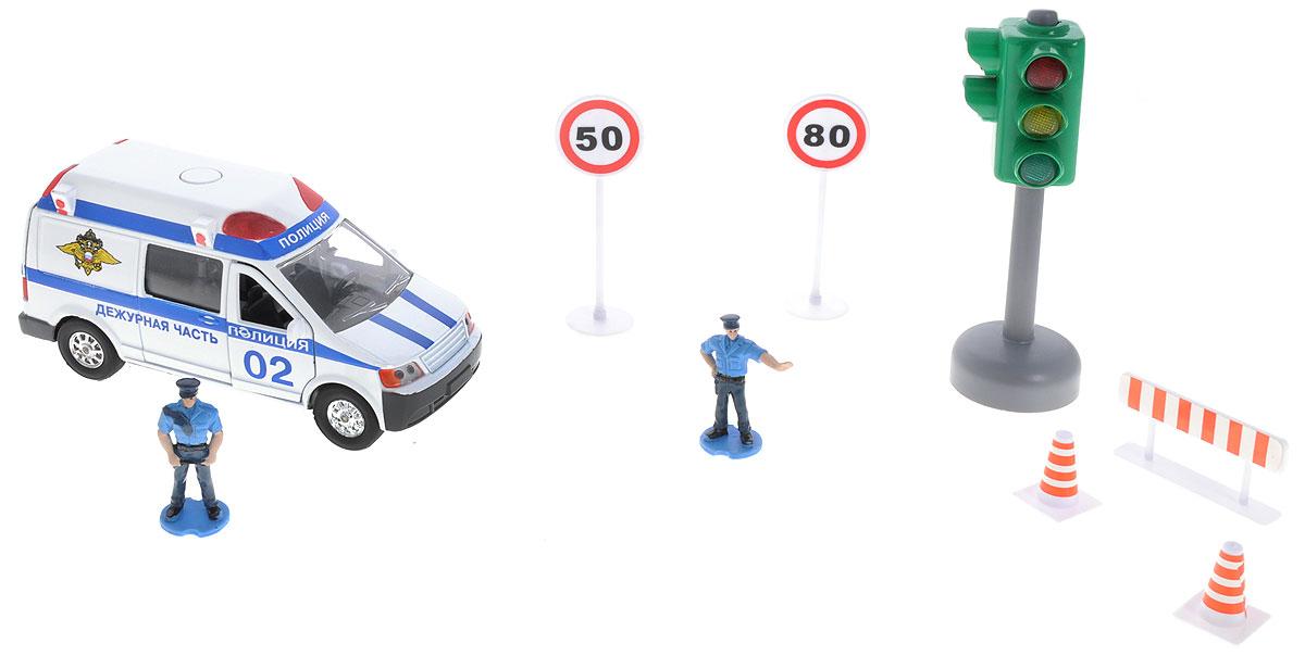 ТехноПарк Игровой набор Полиция технопарк игровой набор полиция