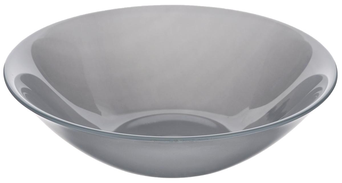 Миска Luminarc Colorama Grey, диаметр 16,5 смJ7793Миска Luminarc Colorama Grey выполнена из высококачественного стекла. Изделие сочетает в себеизысканный дизайн с максимальной функциональностью. Она прекрасно впишется в интерьер вашей кухни и станет достойным дополнением к кухонному инвентарю. Миска Colorama Grey подчеркнет прекрасный вкус хозяйки и станет отличным подарком. Диаметр миски (по верхнему краю): 16,5 см. Высота стенки: 5 см.