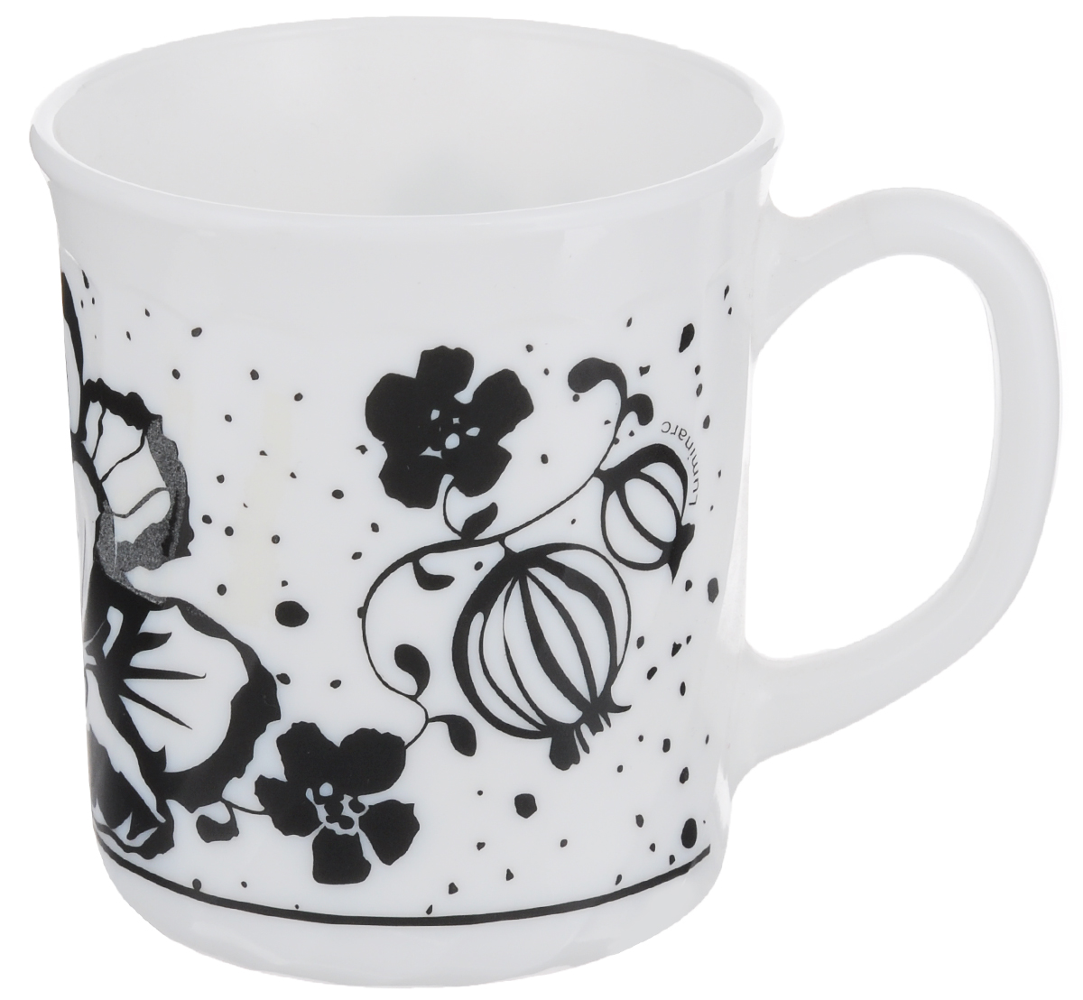 Кружка Luminarc Alcove Black, 290 млH2447Кружка Luminarc Alcove Black изготовлена из прочного стекла. Такая кружка прекрасно подойдет для горячих и холодных напитков. Она дополнит коллекцию вашей кухонной посуды и будет служить долгие годы. Объем кружки: 290 мл. Диаметр кружки (по верхнему краю): 8 см.