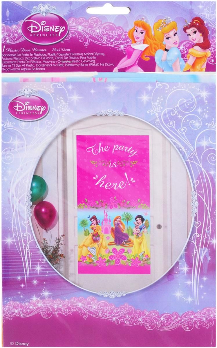 Procos Баннер на дверь Принцессы Disney Летний замок -  Гирлянды и подвески
