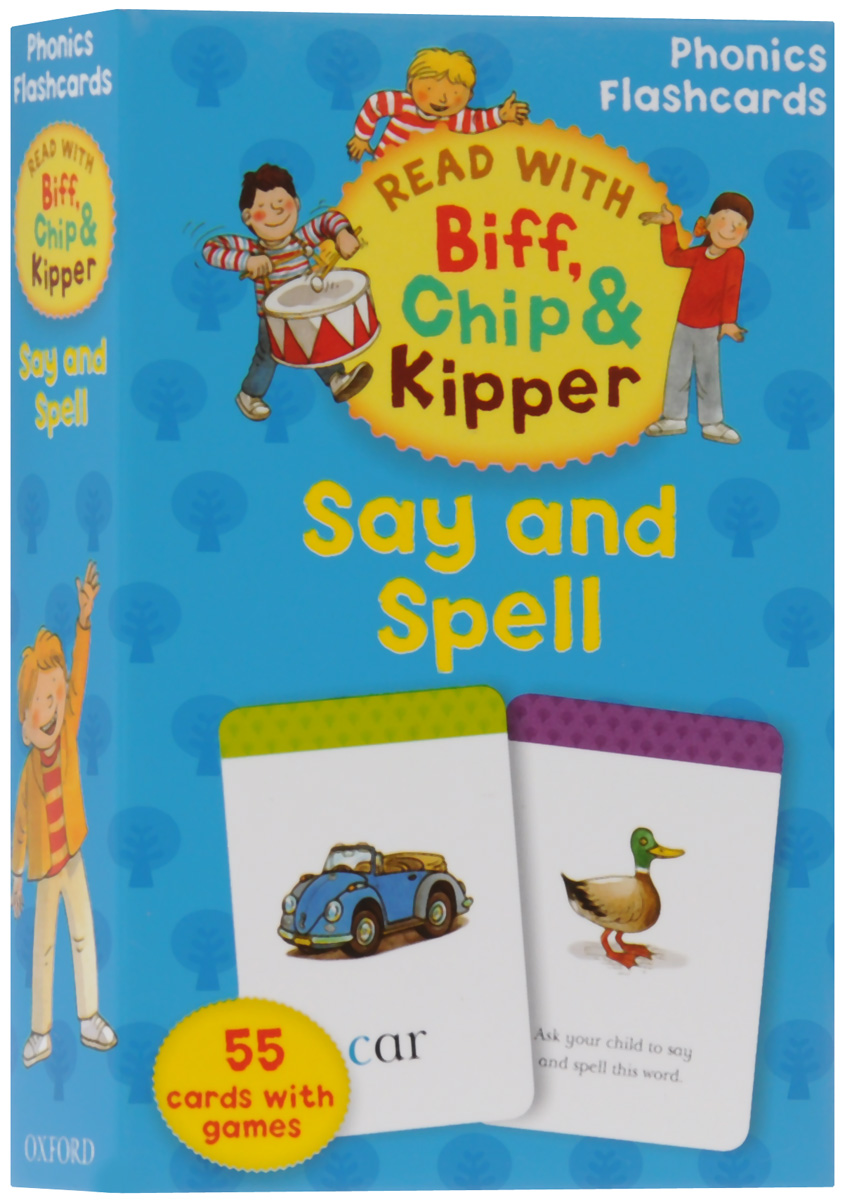 Say and Spell: Phonics Flashcards ladybird i m ready for phonics say the sounds