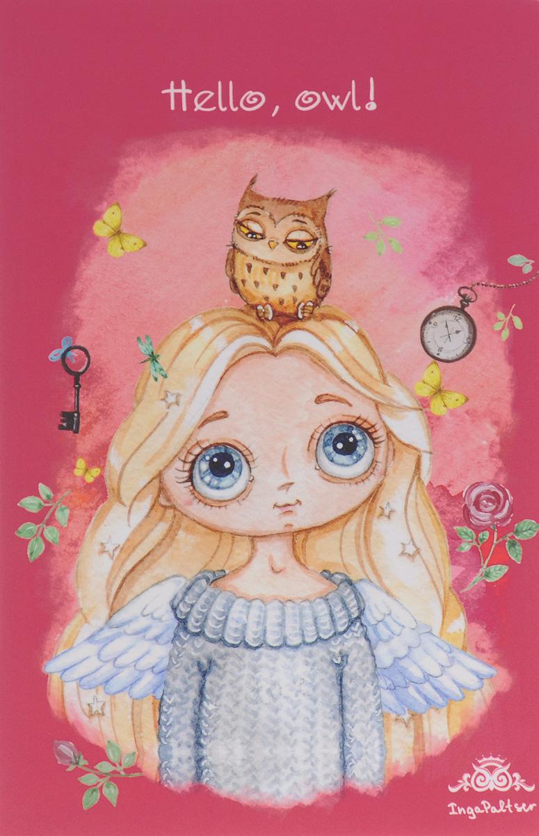 Hello, Owl! Блокнот блокноты фолиант блокнот гимнастки