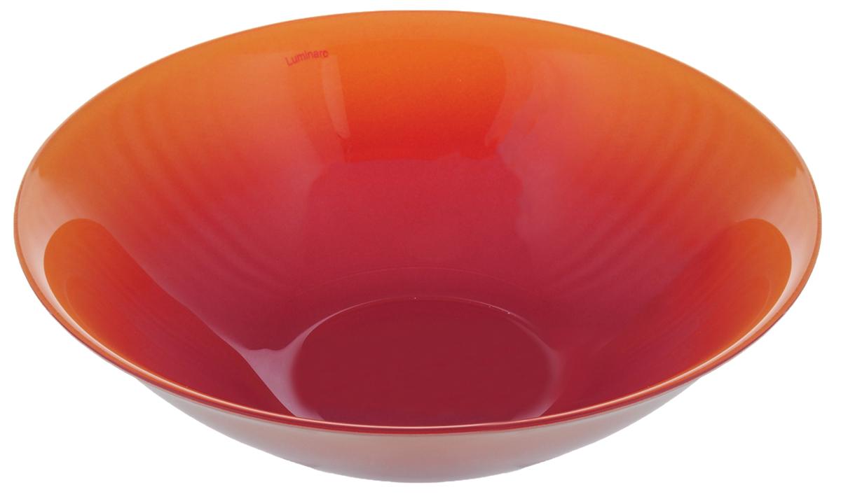 Миска Luminarc Fizz Honey, цвет: оранжевый, розово-лиловый, диаметр 16 смH8780Миска Luminarc Fizz Honey выполнена из высококачественного стекла. Изделие сочетает в себеизысканный дизайн с максимальной функциональностью. Она прекрасно впишется в интерьер вашей кухни и станет достойным дополнением к кухонному инвентарю. Миска Luminarc Fizz Honey подчеркнет прекрасный вкус хозяйки и станет отличным подарком.