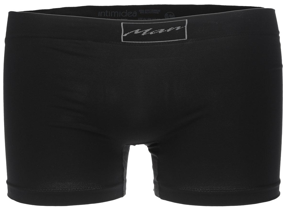 Трусы-боксеры мужские Intimidea Basic Man, цвет: черный. 300008_Nero. Размер M/L (48/50)