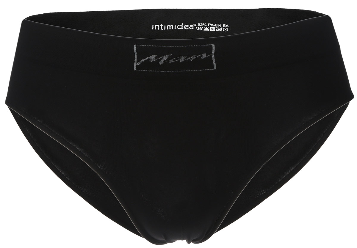 Трусы-слипы мужские Intimidea Basic Man, цвет: черный. 300009_Nero. Размер L/XL (52/54) beili red 28pcs professional makeup brushes set natural hair powder foundation blusher eyeshadow eyebrow liner makeup brush tool
