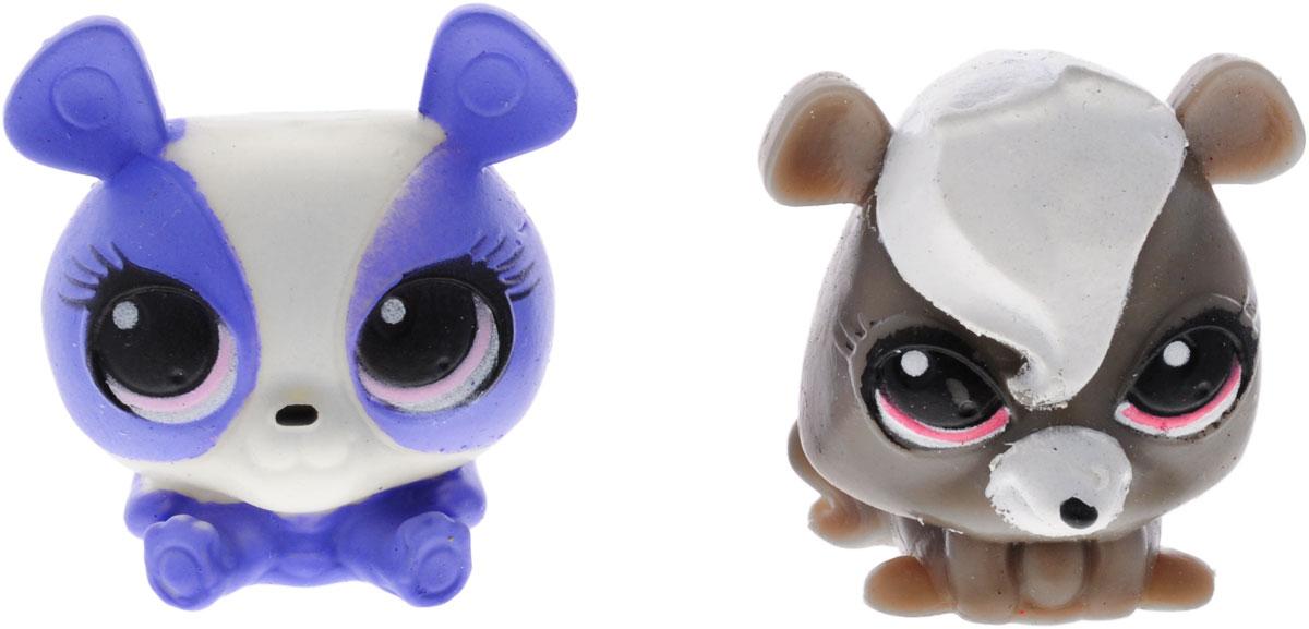 Littlest Pet Shop Игрушка-мялка 2 шт littlest pet shop фигурка мялка цвет оранжевый