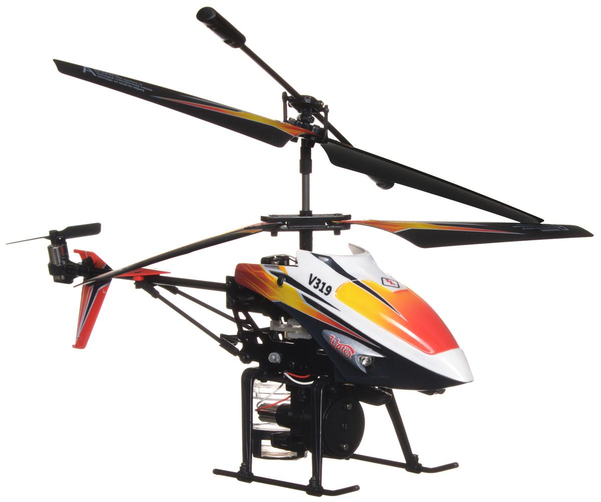 Mioshi Вертолет на инфракрасном управлении Splash цвет оранжевый черный - Радиоуправляемые игрушки