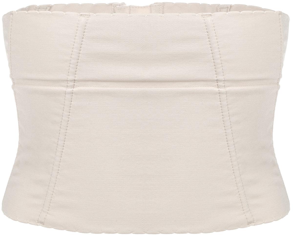 Корсет корректирующий Control Body Gold, цвет: Skin (бежевый). 110417. Размер L/XL (48/50)110417Корректирующий корсет Control Body Gold выполнен из эластичной микрофибры. Материал приятный на ощупь, позволяет коже дышать. Корсет улучшает осанку, моделирует линию талии, поддерживает область живота и спину. Бесшовный корсет с пластиковыми вставками с сильным давлением имеет сзади застежки-крючки для идеального облегания. Модель с фигурными краями. Коллекция Gold - это моделирующие изделия, созданные для уменьшения объема в проблемных зонах. Эта линия гарантирует великолепную поддержку даже самых больших размеров, придает изящный внешний вид и сокращает объем на один размер.