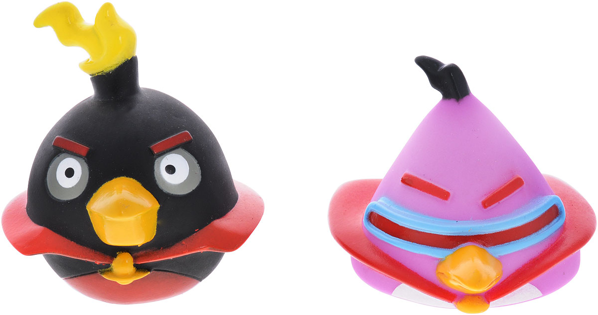 Angry Birds Игрушки для ванной Space цвет сиреневый черный жевательная конфета angry birds в стиках 25гр