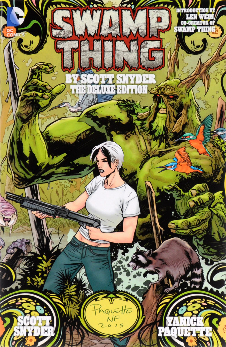 Swamp Thing by Scott Snyder: The Deluxe Edition swamp thing by scott snyder the deluxe edition