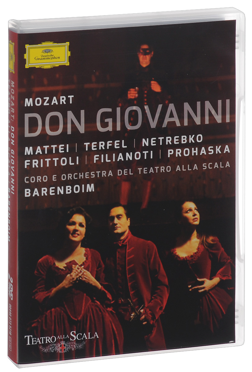 Daniel Barenboim: Wolfgang Amadeus Mozart: Don Giovanni (2 DVD) the girl with the make believe husband