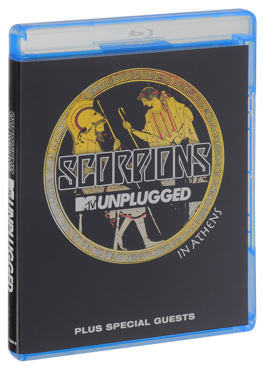 Scorpions: MTV Unplugged In Athens (Blu-ray) виниловая пластинка scorpions born to touch your feelings best of rock ballads