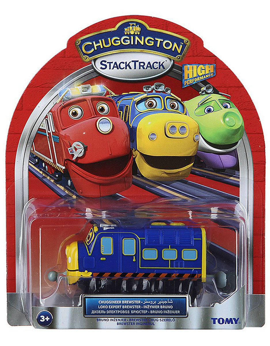 Chuggington Паровозик Брюстер-инженер