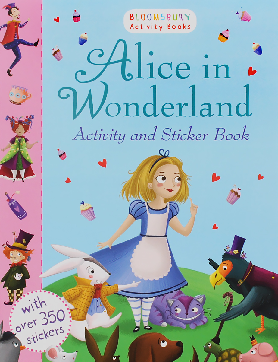 Alice in Wonderland: Activity and Sticker Book my counting sticker activity book