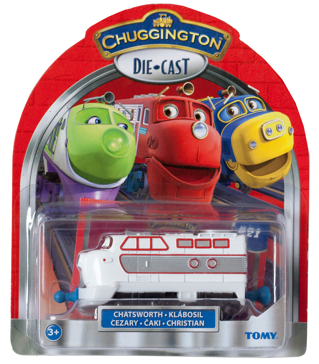 Chuggington Паровозик Чезворт