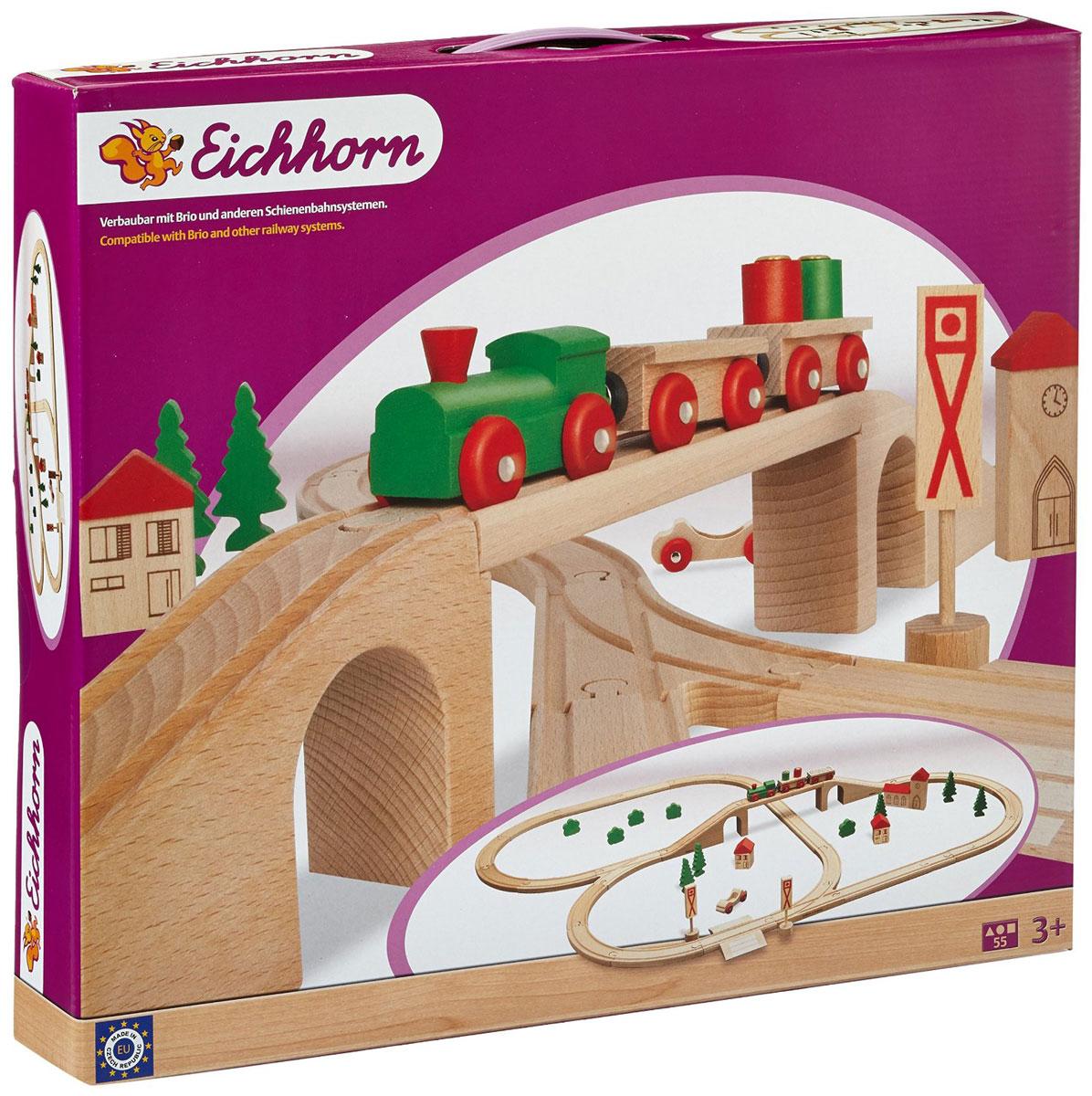 Eichhorn Железная дорога с мостом