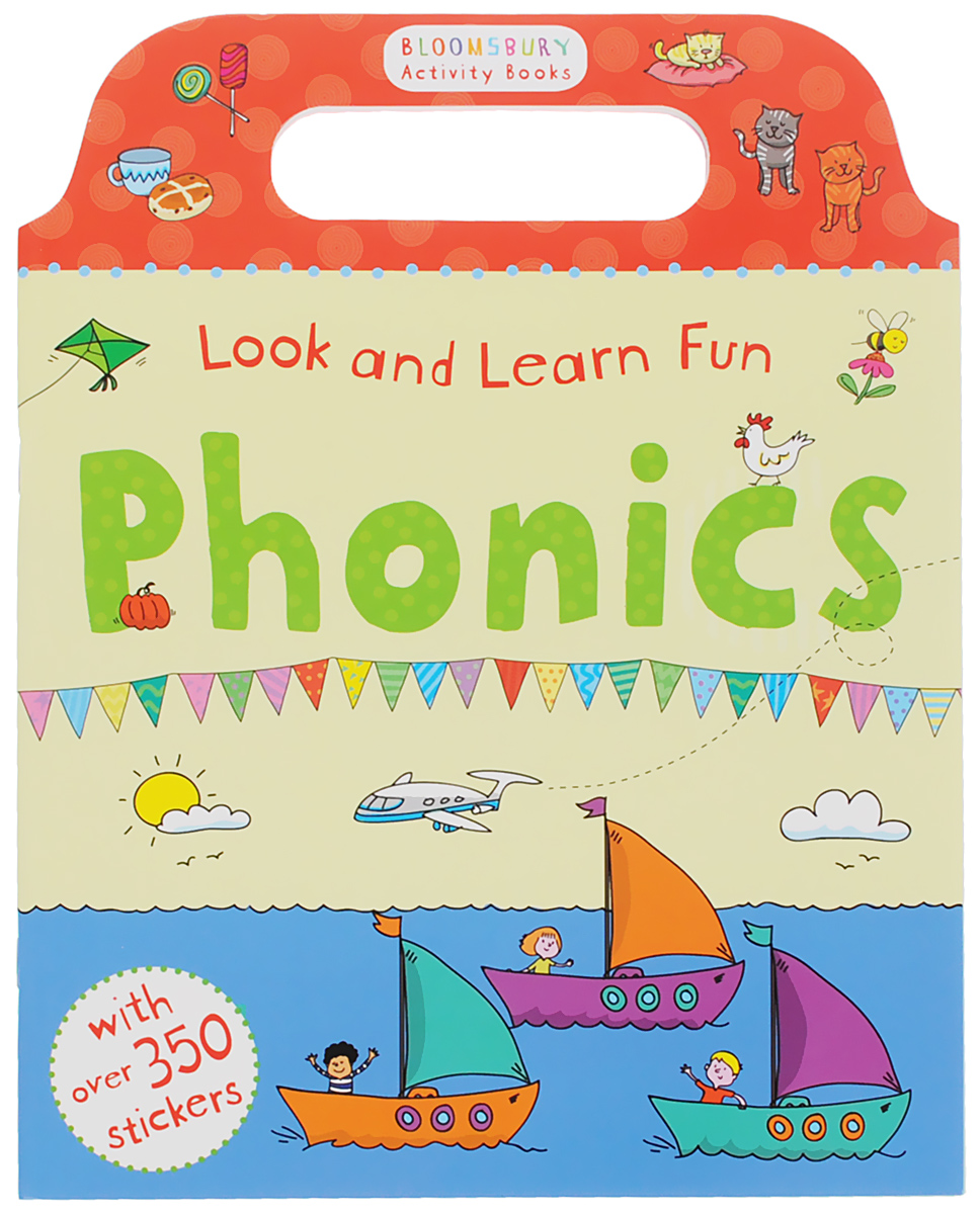 Look and Learn Fun: Phonics first sticker activity for boys