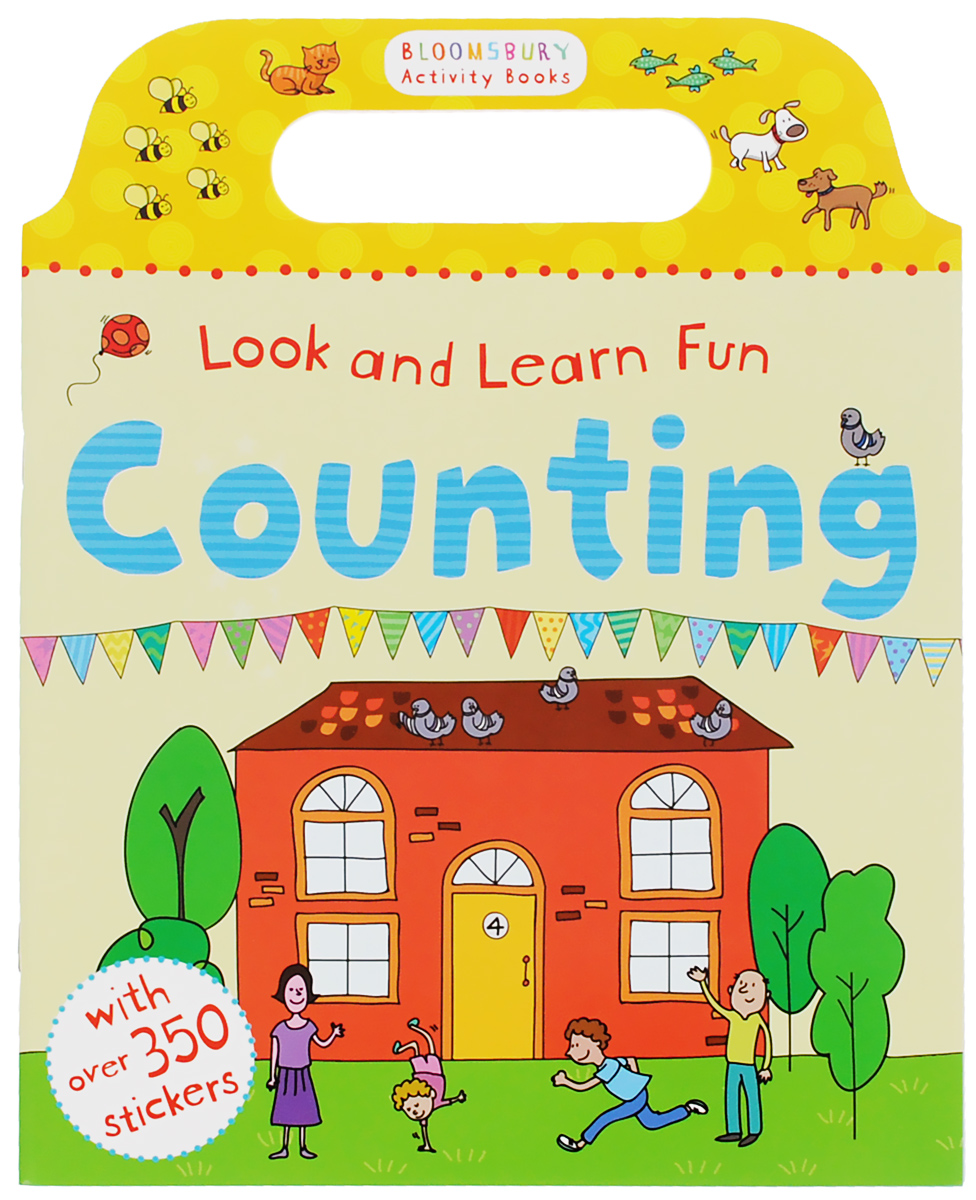 Look and Learn Fun Counting first sticker activity for boys