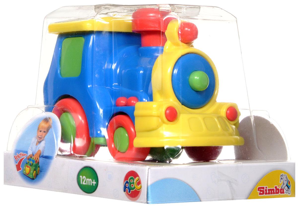 Simba Паровоз инерционный цвет синий simba машинка игрушка лев