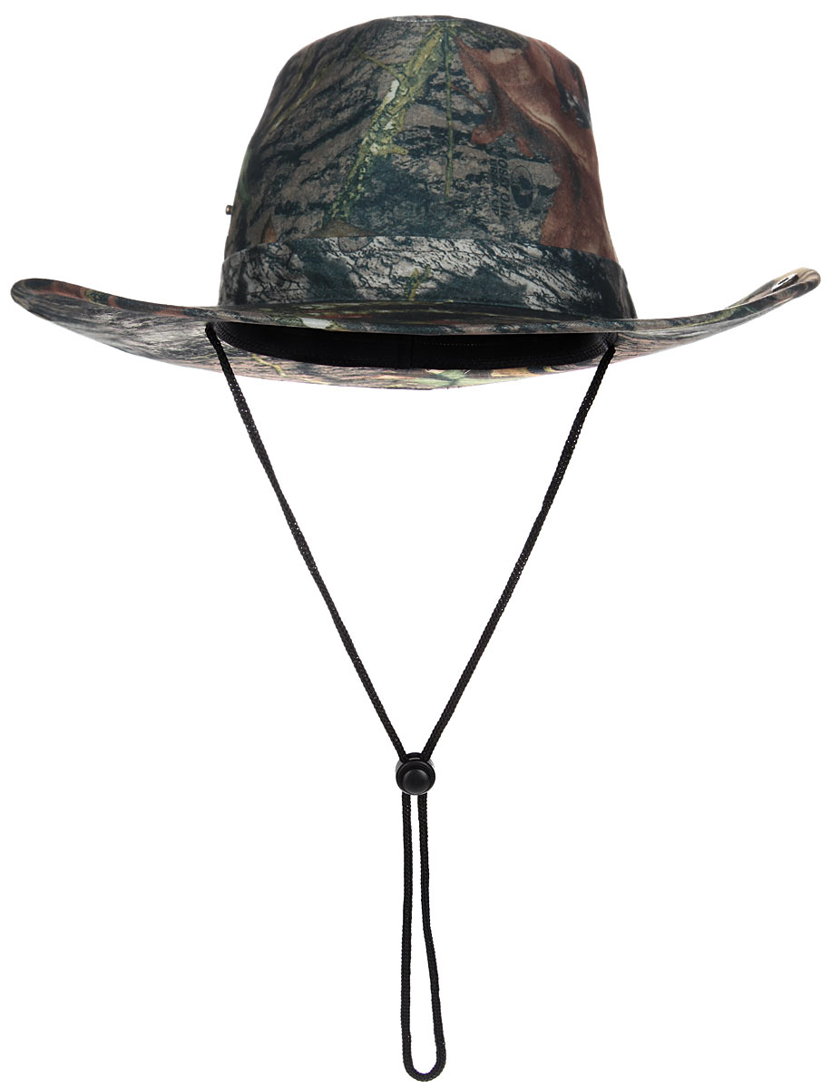 Шляпа мужская HuntLandia, цвет: зеленый. 2030040. Размер 582030040Широкополая шляпа Huntlandia - незаменимый аксессуар для охотника или туриста. Непромокаемая шляпа защитной расцветки выполнена из высококачественного материала и дополнена кнопками на тулье, благодаря которым вы сможете загнуть поля шляпы. Модель оснащена шнурком со стоппером, который позволяет надежно зафиксировать шляпу под подбородком или на шее, благодаря чему она не упадет даже при сильных порывах ветра.Легкая и удобная шляпа надежно защити вас от солнца, ветра и дождя и сделает летний отдых на природе незабываемым.Уважаемые клиенты!Размер, доступный для заказа, является обхватом головы.