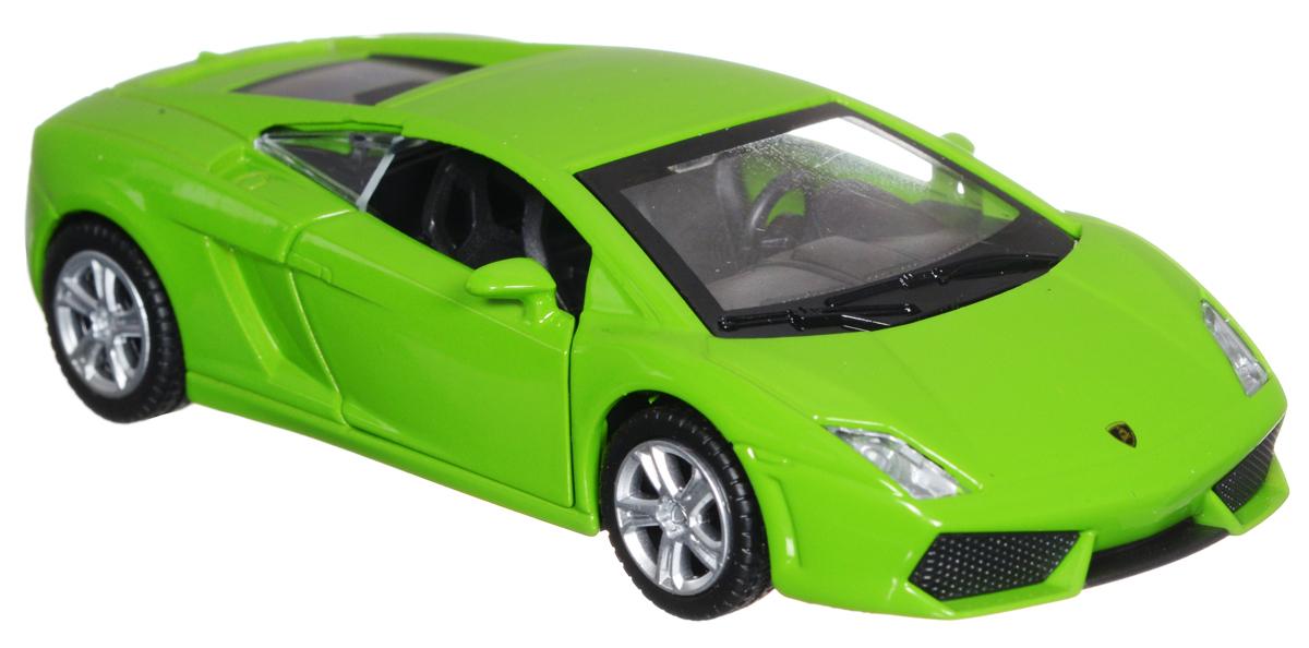 ТехноПарк Модель автомобиля Lamborghini Gallardo LP 560-4 цвет салатовый технопарк машинка инерционная lamborghini gallardo lp 560 4 цвет красный