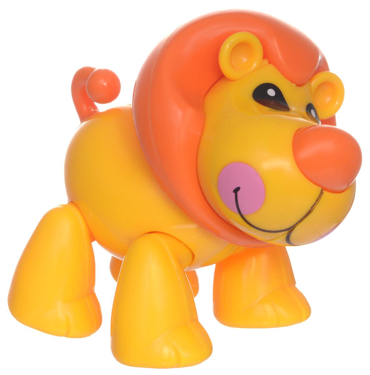 1TOY Фигурка В мире животных Лев цвет желтый